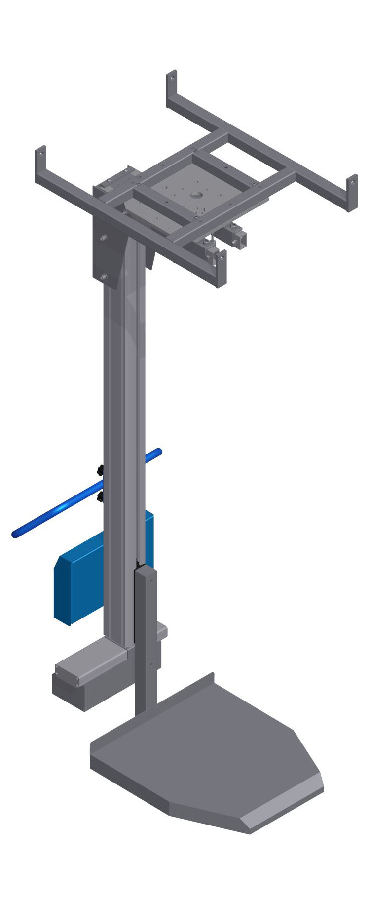 Roof-mounted overhead lifter – Lift&Fly