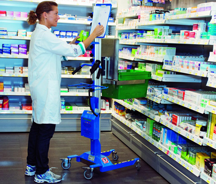 Pharmacy trolley